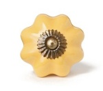 Yellow kitchen knobs